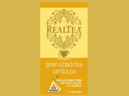 Green & Black Tea Samba Pa