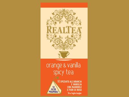 Orange & VanillaSpicy Tea