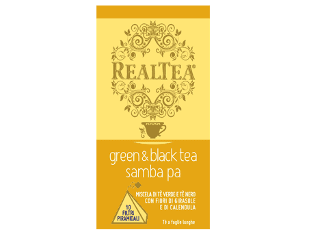 Green & Black Tea Samba Pa