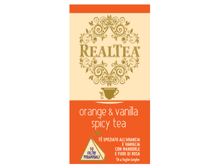 Orange & Vanilla Spicy Tea