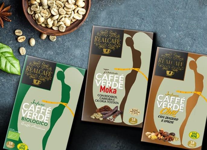confezioni caffè verde RealCafè