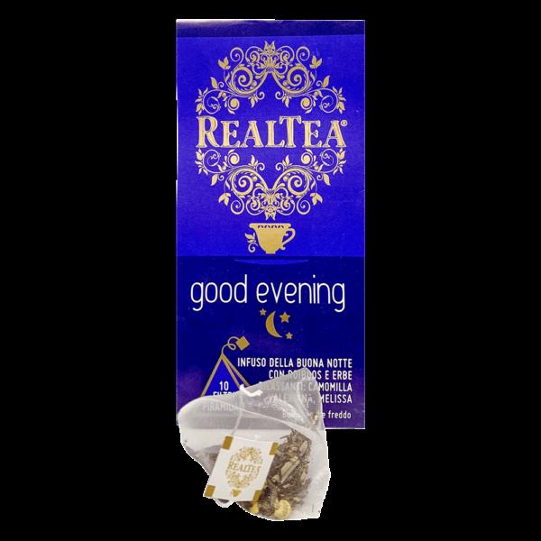 confezione tè piramidale good evening