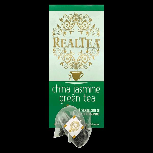 confezione tè piramidale china jasmine green tea