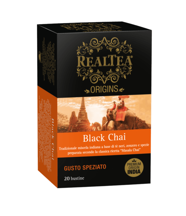 Realtea INDIA Black Chai