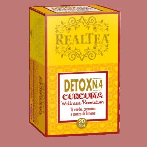 Realtea Detox 4 Curcuma