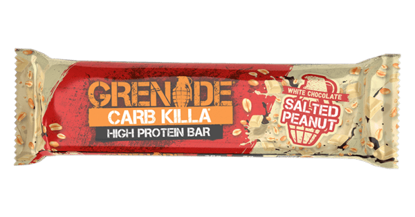 Grenade Carb Killa White Choco Salted Peanut (12 x 60g)