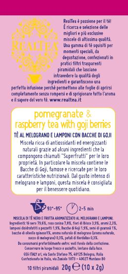 Realtea Pomegranate