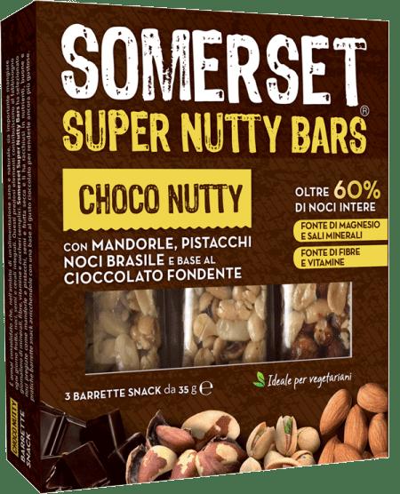 Choco Nutty Barrette snack 35g x 3