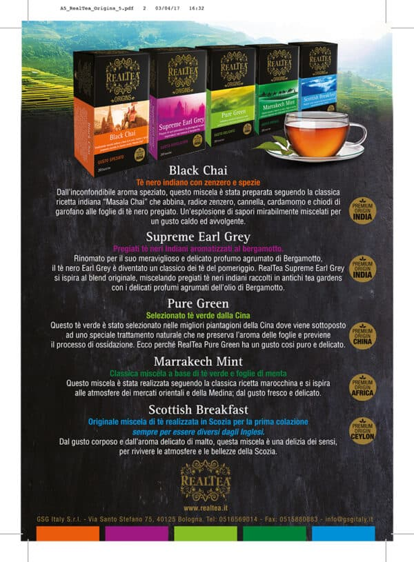 Realtea INDIA Supreme EARL GREY
