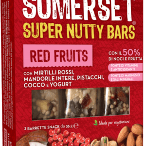 Red Fruits Barrette snack 35g x 3