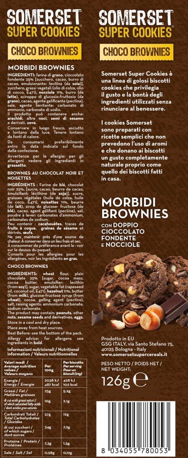 Choco Brownies 126 gr