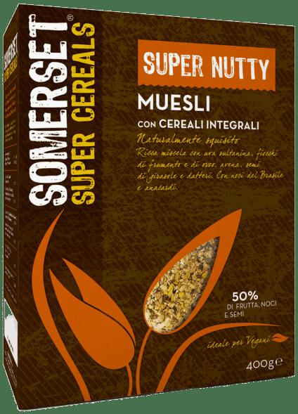 Muesli Super Nutty Somerset 400g