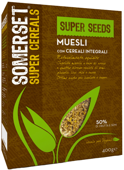 Muesli Super Seed Somerset 400g